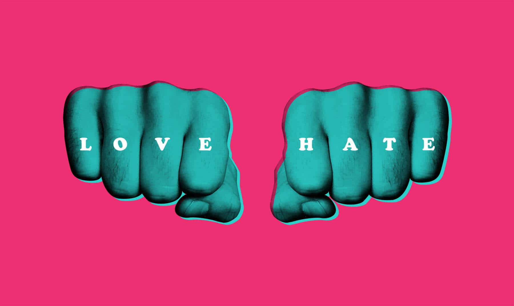 love hate, polarising your brand
